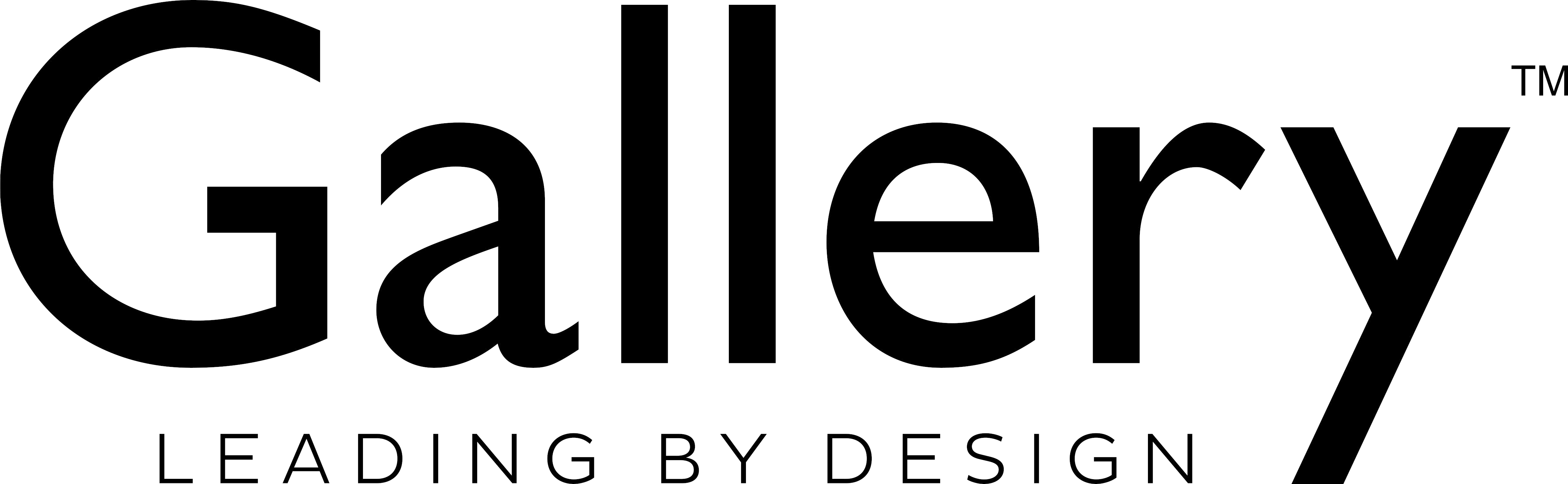 GALLERY Leading Logo Black
